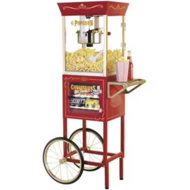 jcpenney.com | Nostalgia Electrics™ Vintage Collection™ Old-Fashioned Movie Time Popcorn Cart