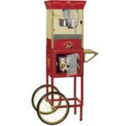 Nostalgia Electrics™ Vintage Collection™ Old-Fashioned Popcorn-Dispensing Cart
