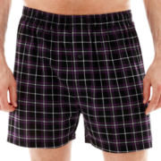 Stafford® Plaid Knit Cotton Boxers