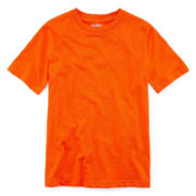Arizona Short-Sleeve Solid Crewneck Tee - Boys 8-20 Husky