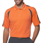 PGA TOUR® Airflux™ Colorblock Polo–Big & Tall