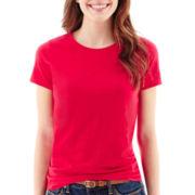 Stylus™ Short-Sleeve Crewneck Slub T-Shirt
