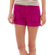 a.n.a® Poplin Utility Shorts
