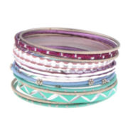 Decree Multi Color Bangle Bracelet