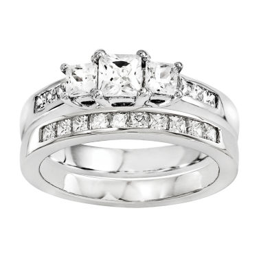 jcpenney.com | 5/8 Ct. T.W Diamond 14K White Gold Bridal Set