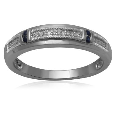 jcpenney.com | Mens Diamond Accent 10K White Gold Wedding Band