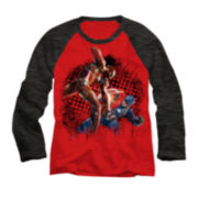 Marvel® Long-Sleeve Civil War Raglan Tee - Boys 8-20
