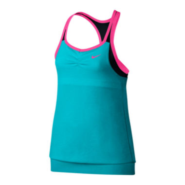 jcpenney.com | Nike® Cool 2-in-1 Cami Tank Top - Girls 7-16