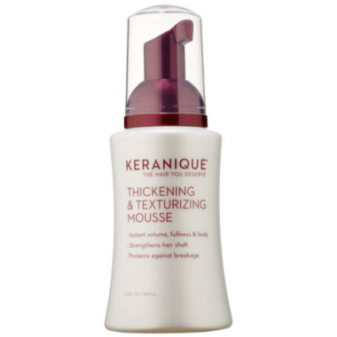jcpenney.com | Keranique Thickening & Texturizing Mousse