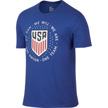 jcpenney.com | Nike® Short-Sleeve USA Pride Cotton Tee