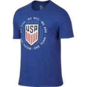 Nike® Short-Sleeve USA Pride Cotton Tee