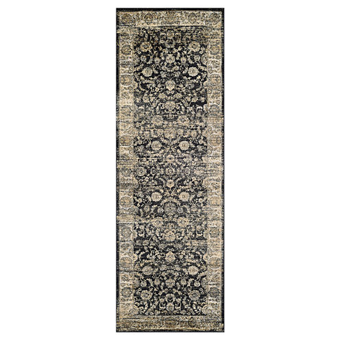 "Couristan® Floral Emblem Rectangle Runner - 31""X94"""