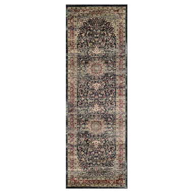 "jcpenney.com | Couristan™ Lotus Medallion Runner Rug - 31""X94"""