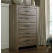 Signature Design by Ashley® Zelen Five-Drawer Chest