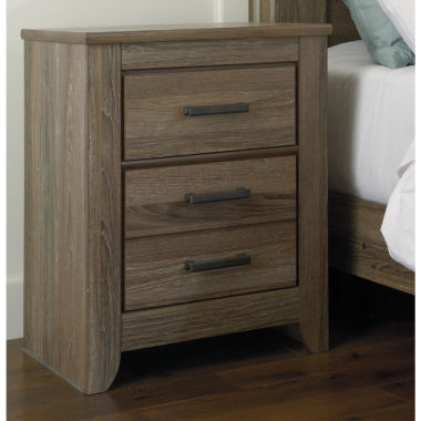jcpenney.com | Signature Design by Ashley® Zelen Two-Drawer Nightstand