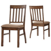 Signature Design by Ashley® Zilmar Set of 2 Side Chairs