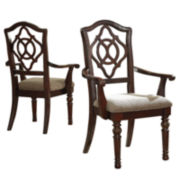 Signature Design by Ashley® Leahlyn Set of 2 Arm Chairs