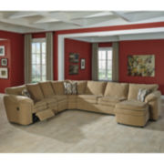 Signature Design by Ashley® Coats 3-pc Reclining Loveseat Sectional
