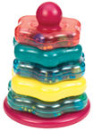 Toysmith Stacking Rings & Rattle Baby Play