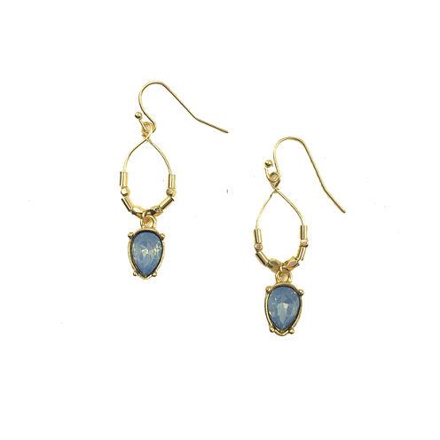 Mixit Blue Drop Earrings