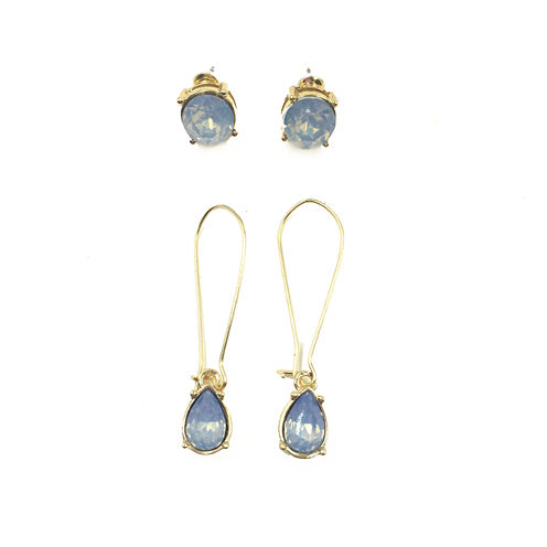 Mixit 2-pc. Blue Earring Sets