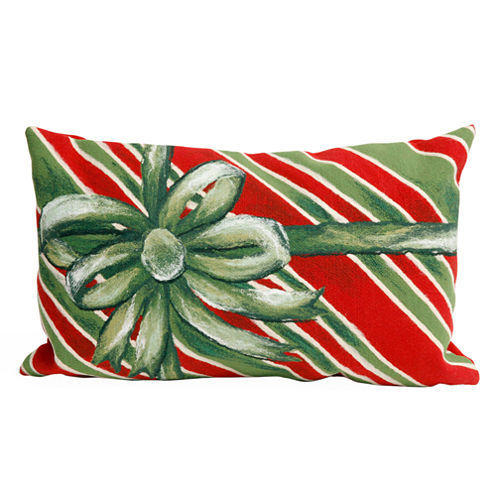 Liora Manne Visions Iii Gift Box Rectangular Outdoor Pillow
