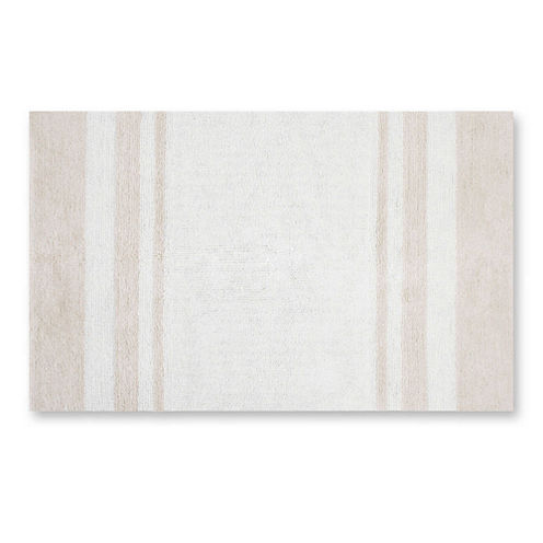 Madison Park Spa Cotton Reversible Bath Rug