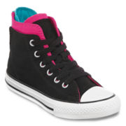 Converse Chuck Taylor All Star Zip Girls High-Top Sneakers - Little Kids
