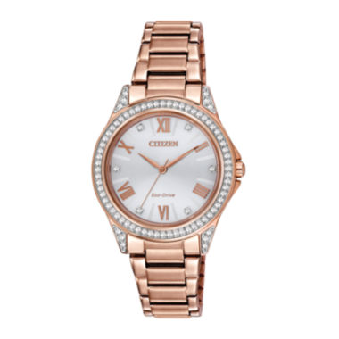 jcpenney.com | Drive from Citizen® Eco-Drive® Womens Crystal-Accent Watch