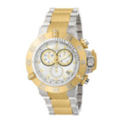 Invicta® Noma Mens Two-Tone Gold-Plated Dive Watch