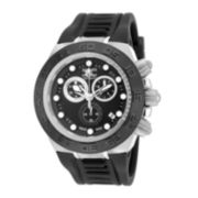 Invicta® Mens Black Noma Chronograph Strap Watch