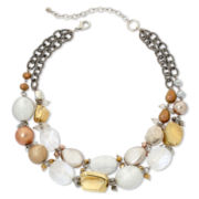 Aris by Treska Glitterati Chunky Beaded Necklace