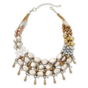 Aris by Treska Glitterati Multi-Row Statement Necklace