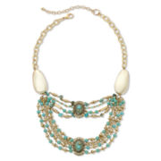 Aris by Treska Multi-Row Bib Necklace