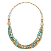 Aris by Treska Long Statement Necklace