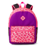 Xersion™ Pink Leopard Backpack