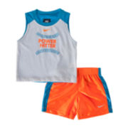 Nike® Power Hitter Tank and Shorts Set - Boys 12m-24m