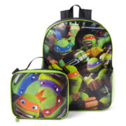 Teenage Mutant Ninja Turtles Backpack with Lunch Kit
