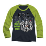 Teenage Mutant Ninja Turtles Long-Sleeve Raglan Tee - Boys 6-18