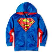 Superman Fleece Graphic Hoodie - Boys 6-18
