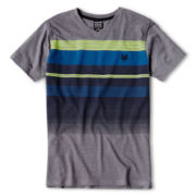 Zoo York® Striped Short-Sleeve V-Neck Tee - Boys 6-16