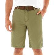 Plugg® Belted Bassett Shorts