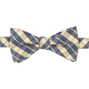 Stafford® Paprika Dot & Ginger Plaid Pre-Tied Bow Tie