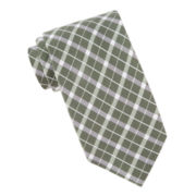 Stafford® Plaid Tie
