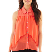 Heart & Soul® Sleeveless Trapeze Top