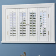 JCPenney Home™ Traditional Wood Interior Shutters – 4 Panels