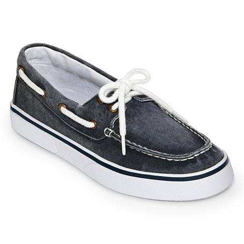 St. John's Bay® Inlet Mens Canvas Boat Shoes