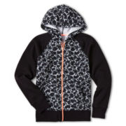 Xersion™ Print Fleece Hoodie - Girls 6-16 and Plus