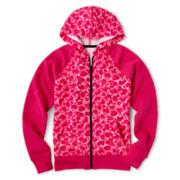 Xersion™ Print Fleece Hoodie - Girls 6-16 and Plus