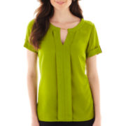 Worthington® Short-Sleeve Blouse - Tall